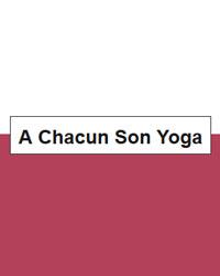 image du professeur de yoga A CHACUN SON YOGA