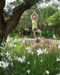 image du professeur de yoga LE JARDIN DU YOGA