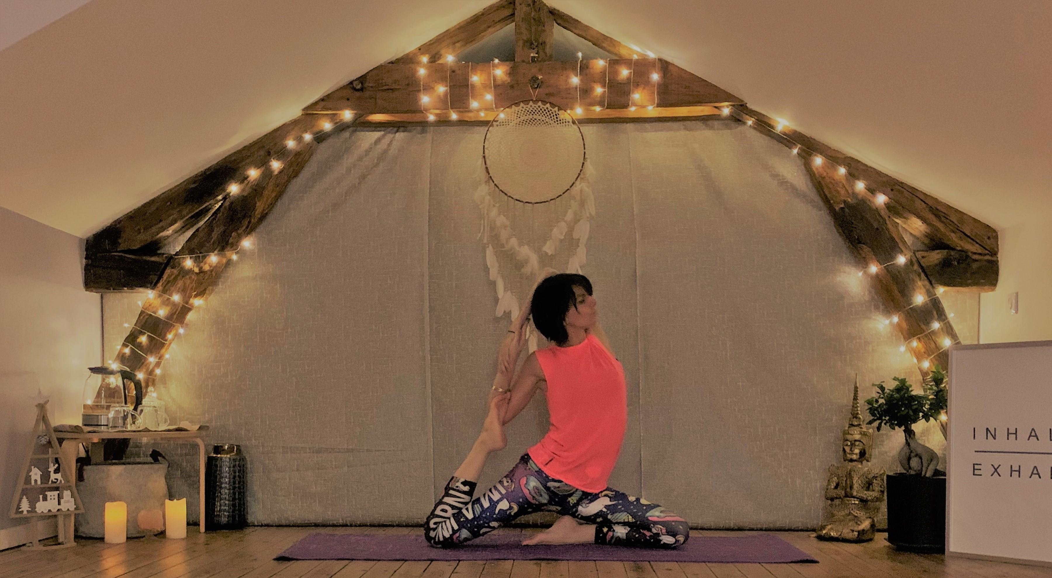 Professeur Yoga LASTRA Eva