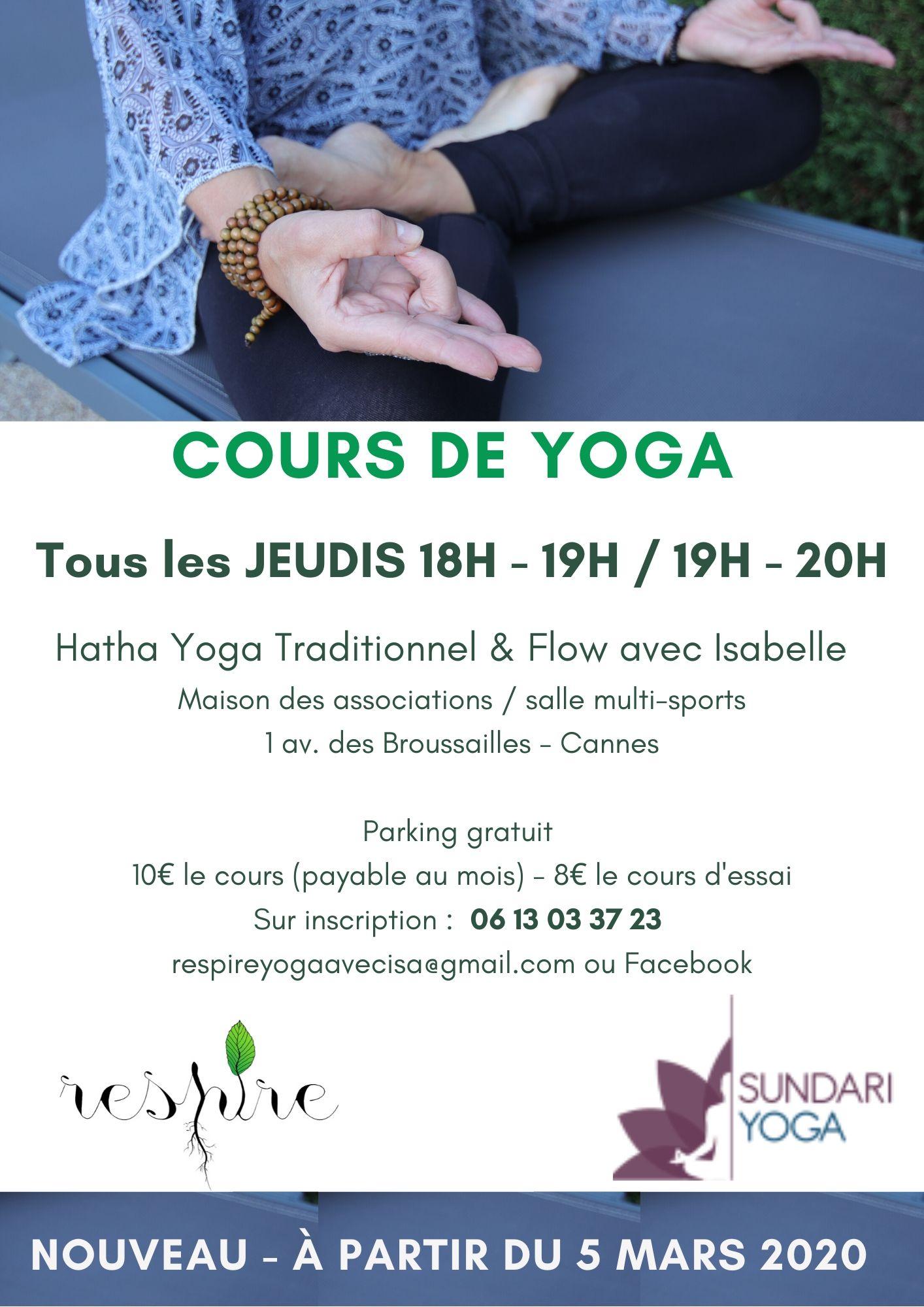 image du professeur de yoga RESPIREYOGAISA