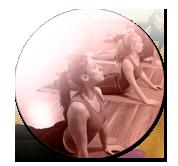 image Tout public du professeur de yoga