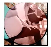 image Pré-post natal du professeur de yoga